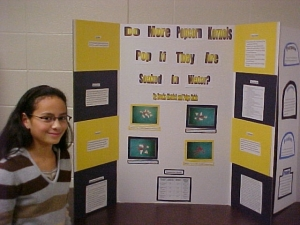 6th grade science fair